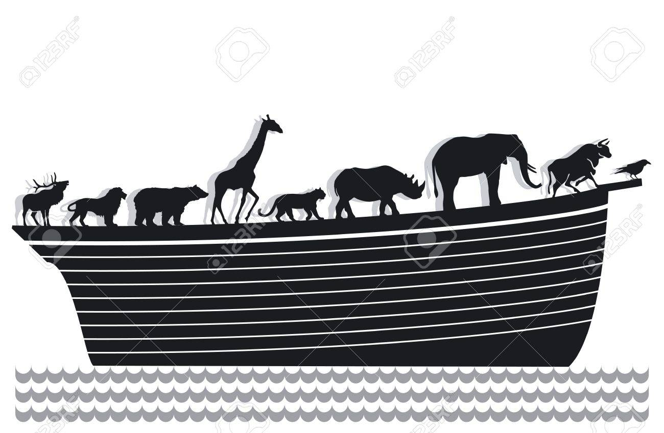 Ark and animals Stock Vector - 12062411