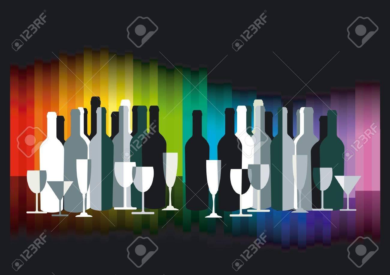 Colour Bar Stock Vector - 12492531
