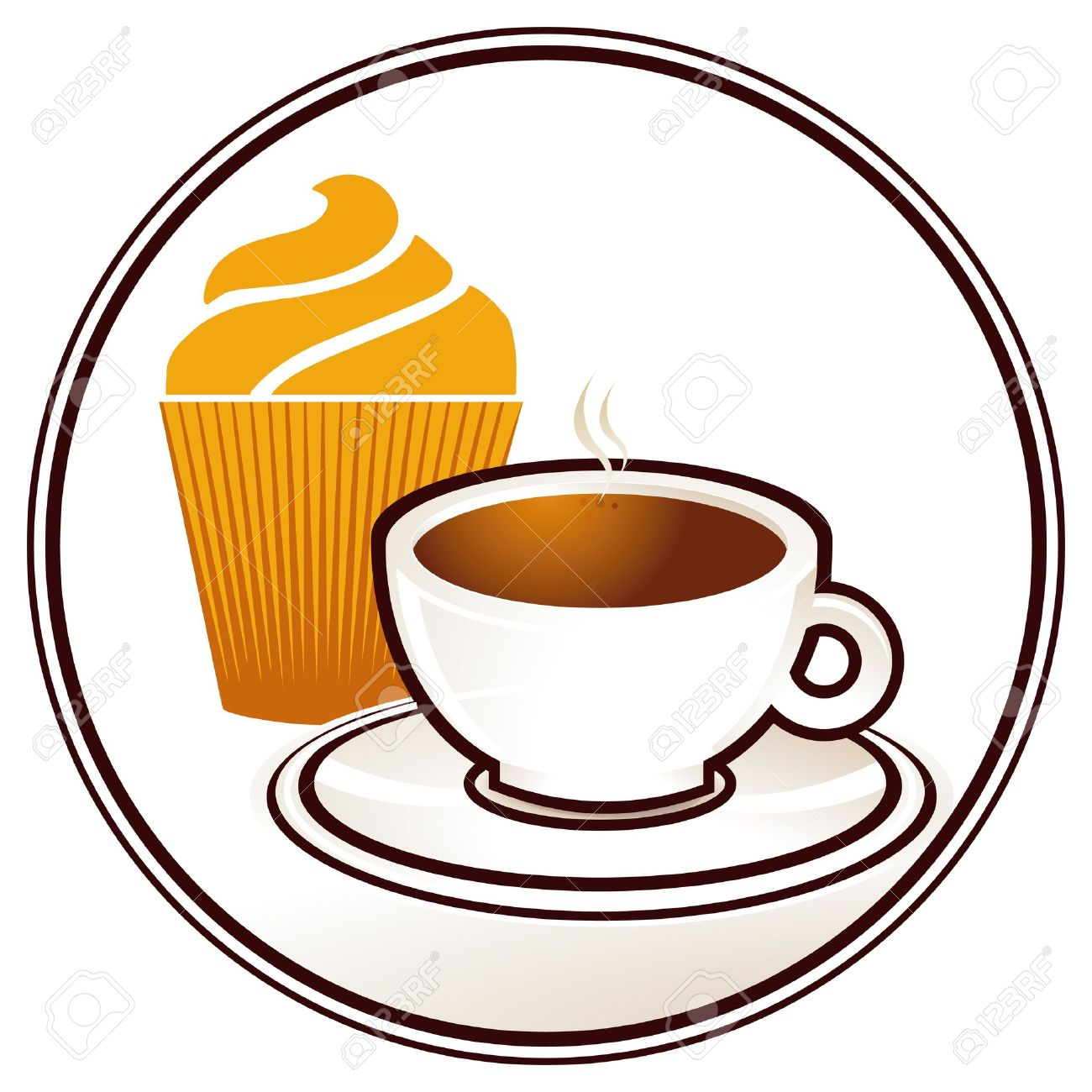 Image result for coffee and cake clipart