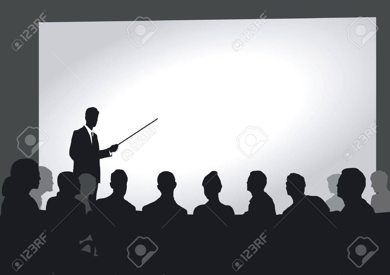 Presentation in the auditorium - 14550704