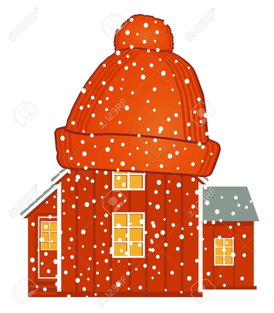 warm house Stock Vector - 15556419