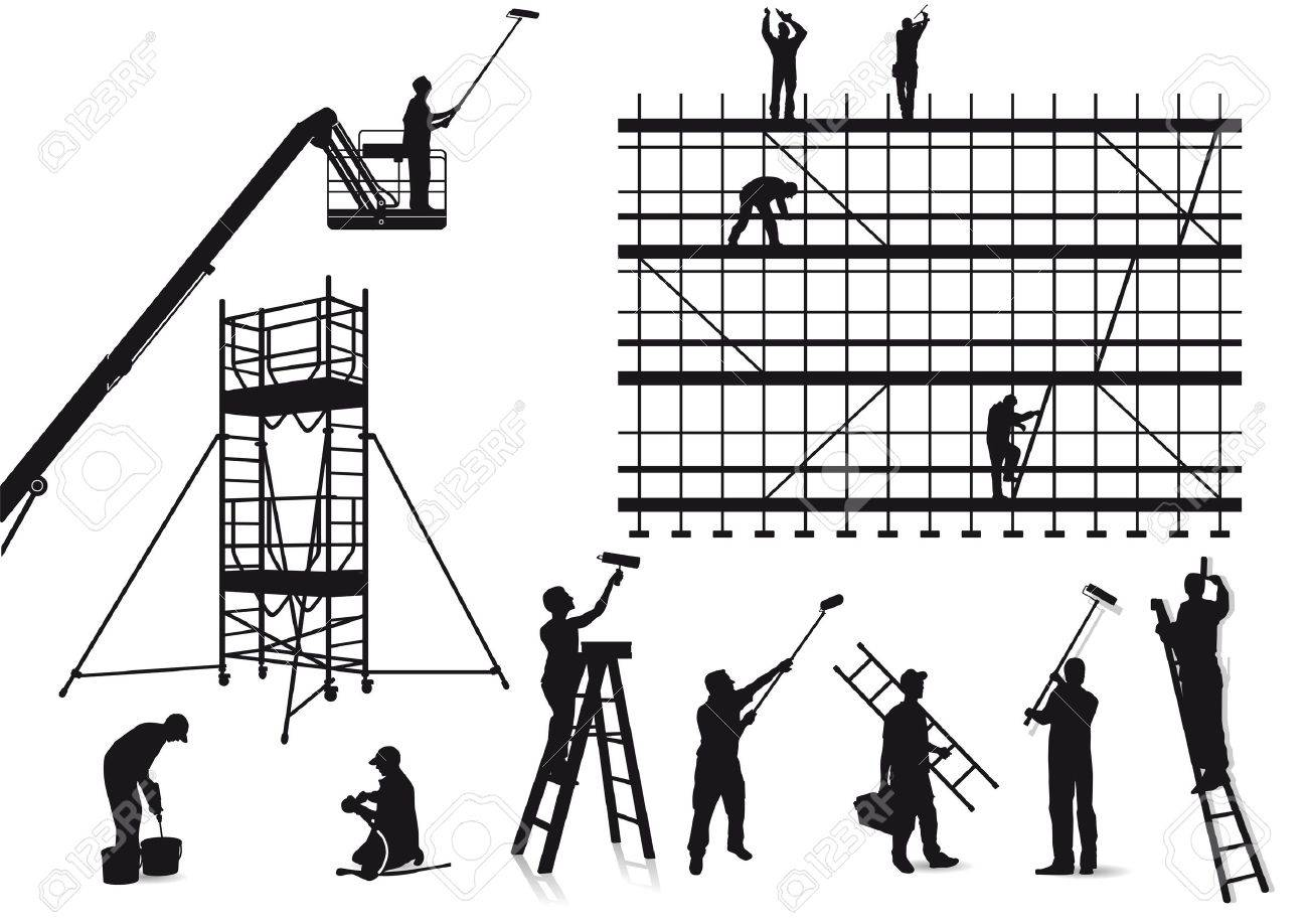 Painters and craftsmen Stock Vector - 19020297