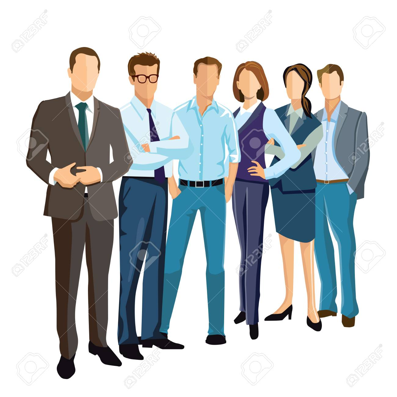 people group presentation illustration royalty free cliparts