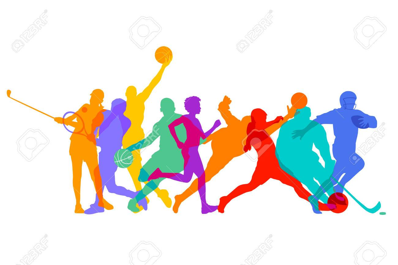 sports games and athletes royalty free cliparts vectors and stock rh 123rf com sports vector art sports vector free