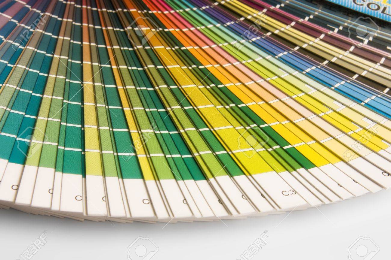 Open CMYK Sample Colors Catalogue Photo Picture And Royalty – Sample Cmyk Color Chart
