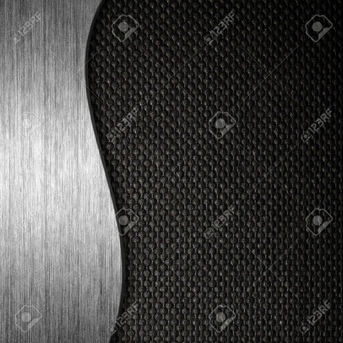 Texture metal and fabric material template background Stock Photo - 13158552