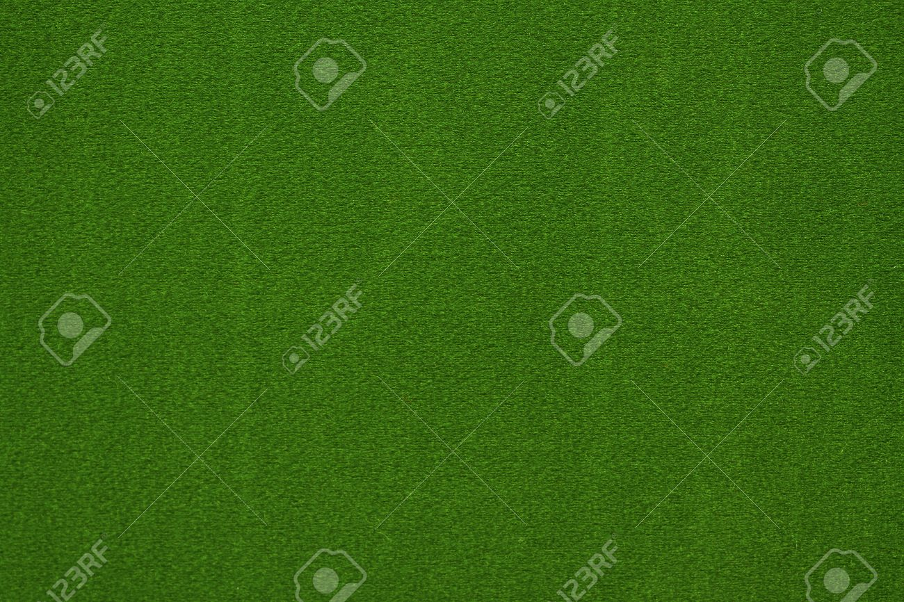 Poker table background - Close Up Of Green Poker Table Felt Background Stock Photo 13158572