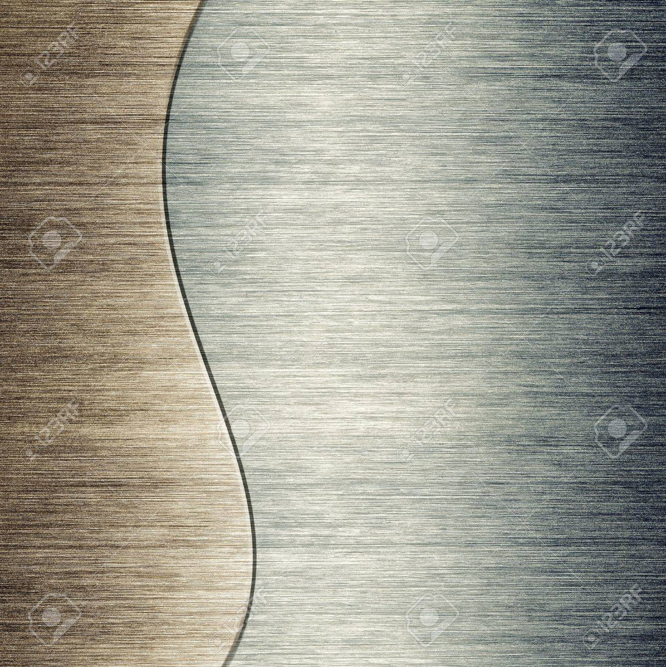 pattern of Brushed metal background  metal plate template Stock Photo - 13158571