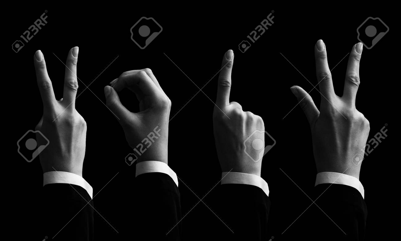 happy new year with hands forming number 2013 Stock Photo - 16200877