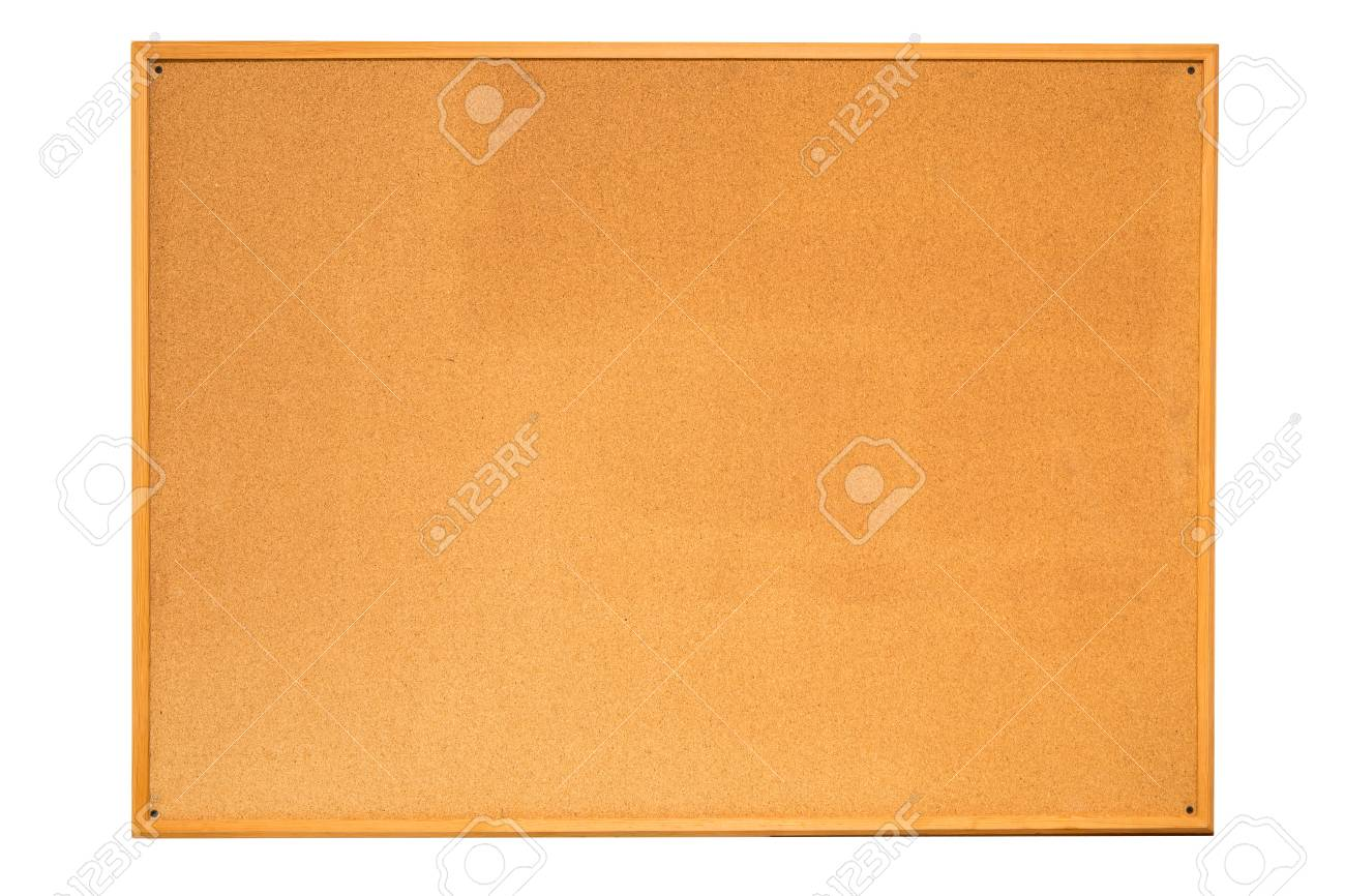 cork board isolated on white background Stock Photo - 22268408