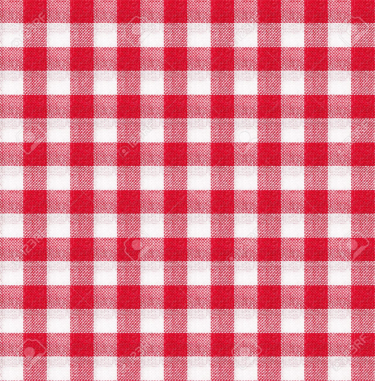 Red And White Tablecloth Italian Style Texture Wallpaper Stock Photo    24979793