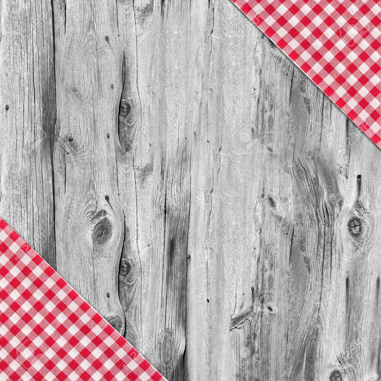 White wooden table texture - White And Red Tablecloth Textile Texture On Wooden Table Background Stock Photo 25199231