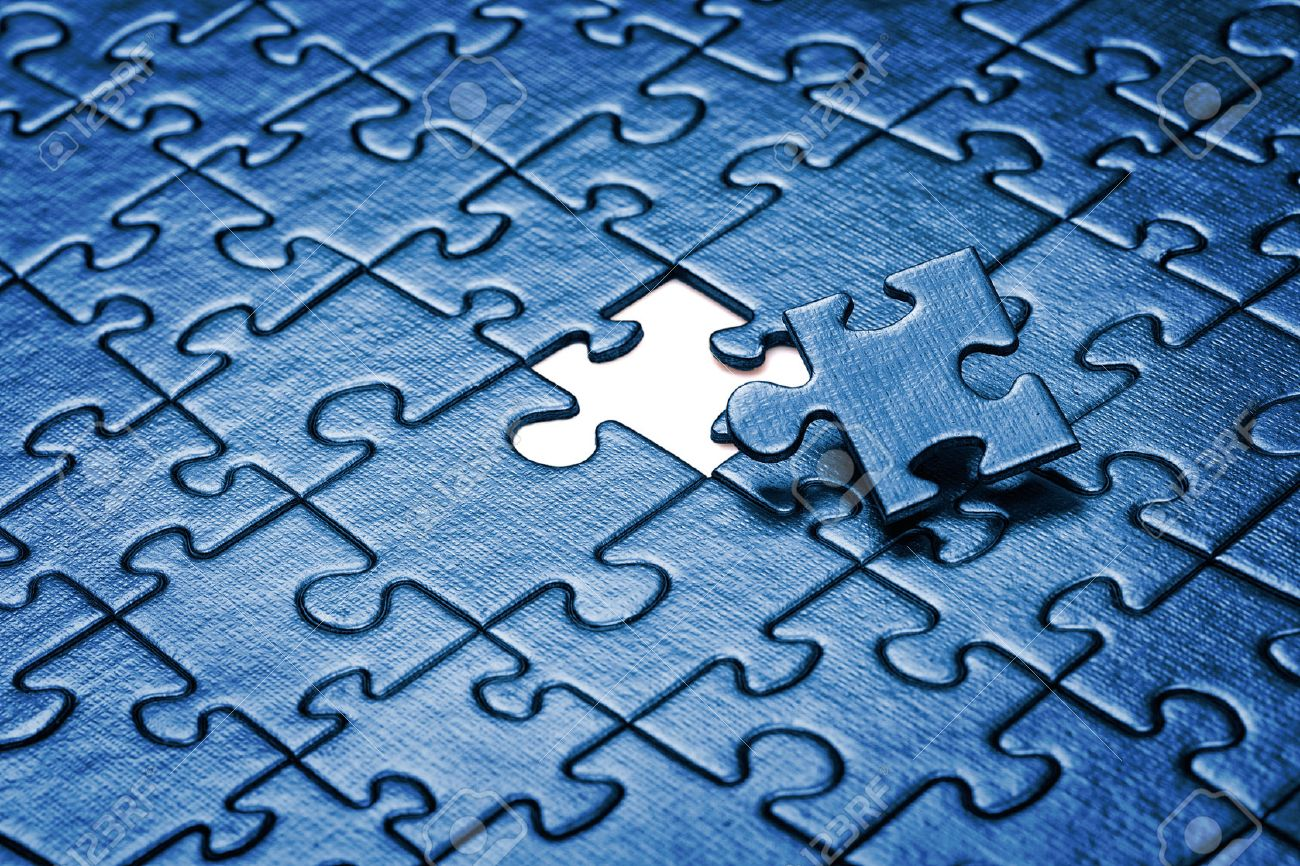 last piece of jigsaw puzzle stock photo picture and royalty free
