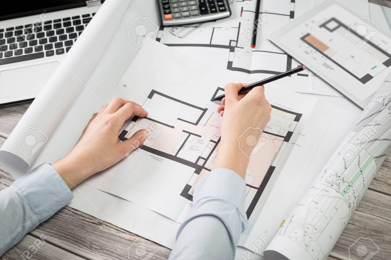 Disegno Di Ufficio : Attività architetto architettura disegno di progetto schema di