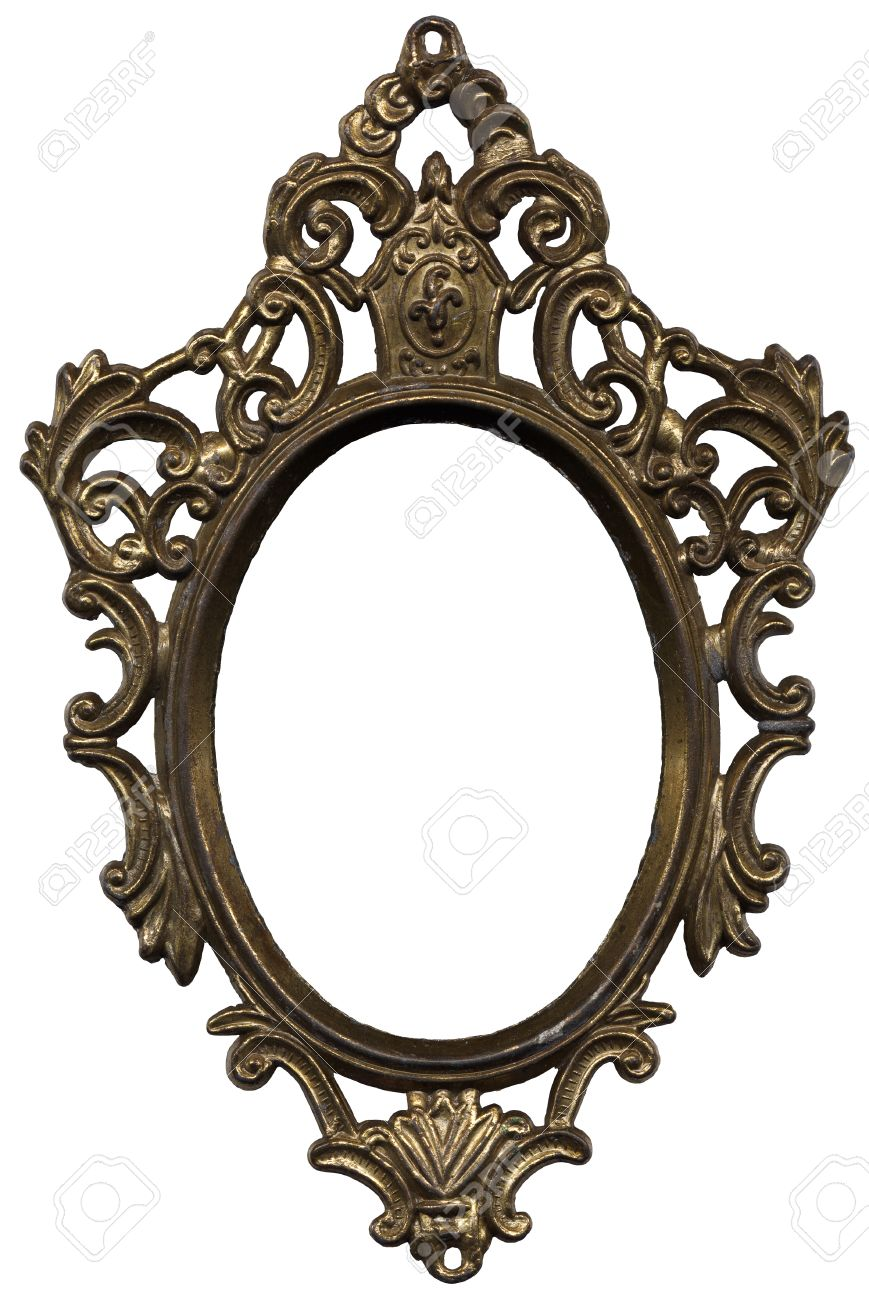 Old Mirror Frame Stock Photo, Picture And Royalty Free Image. Image ...