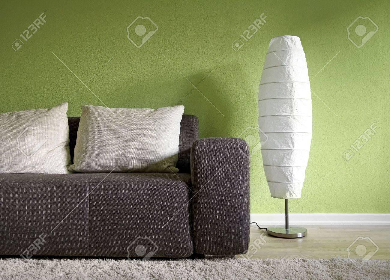 Green living room Stock Photo - 5195065