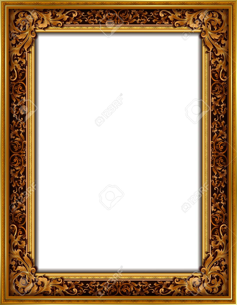 6b2a9a1c9119 Decorative Vintage Frames And Borders Set