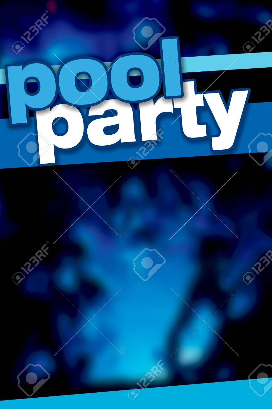 diseño del cartel de la plantilla fiesta en la piscina fotos