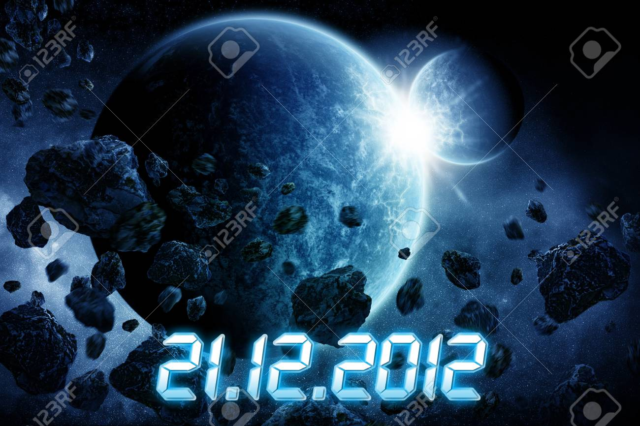 Planet Earth Apocalypse Stock Photo - 16185703