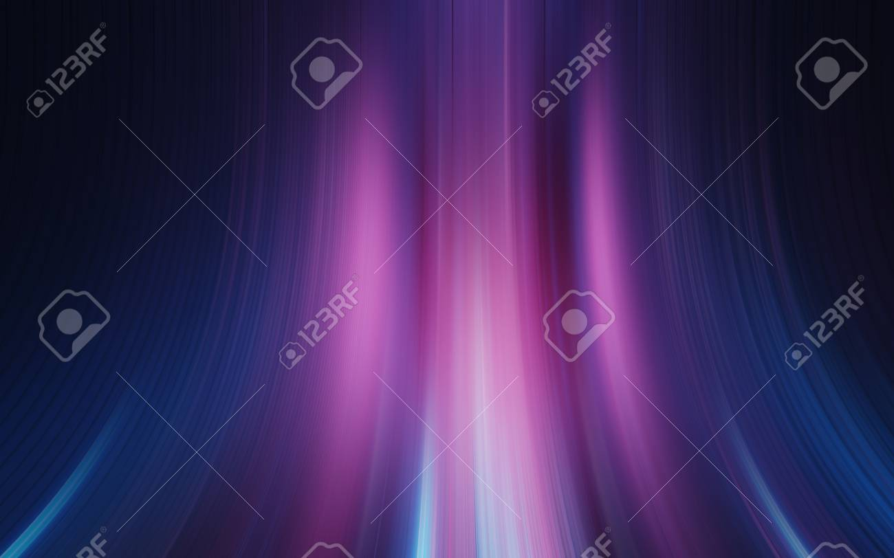 Colorful Blue Pink Purple Abstract Light Effect Texture Wallpaper 3d Rendering