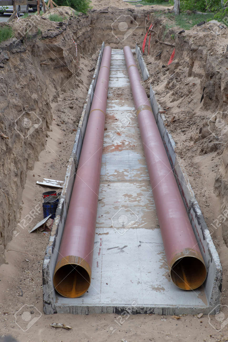 Repair of city water supply and sewerage, replacement of pipes and locking devices. - 157714291