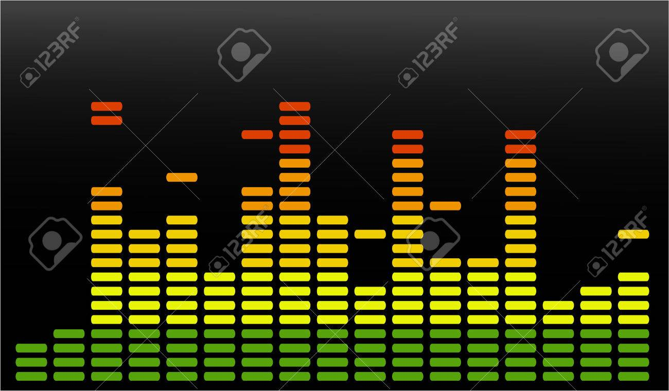 the vector  equalizer abstract background Stock Vector - 4402895