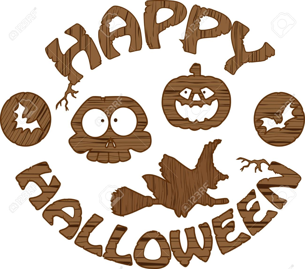the Halloween  designs image Stock Photo - 7781930
