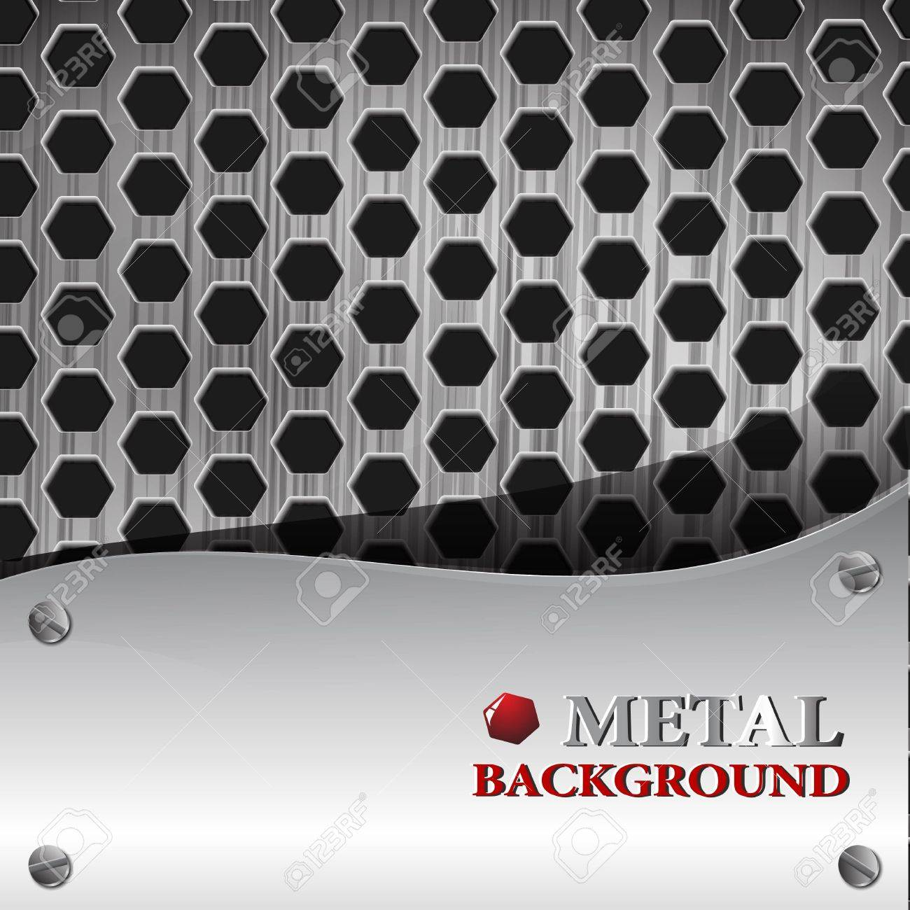 the abstract metallic background Stock Vector - 8918670