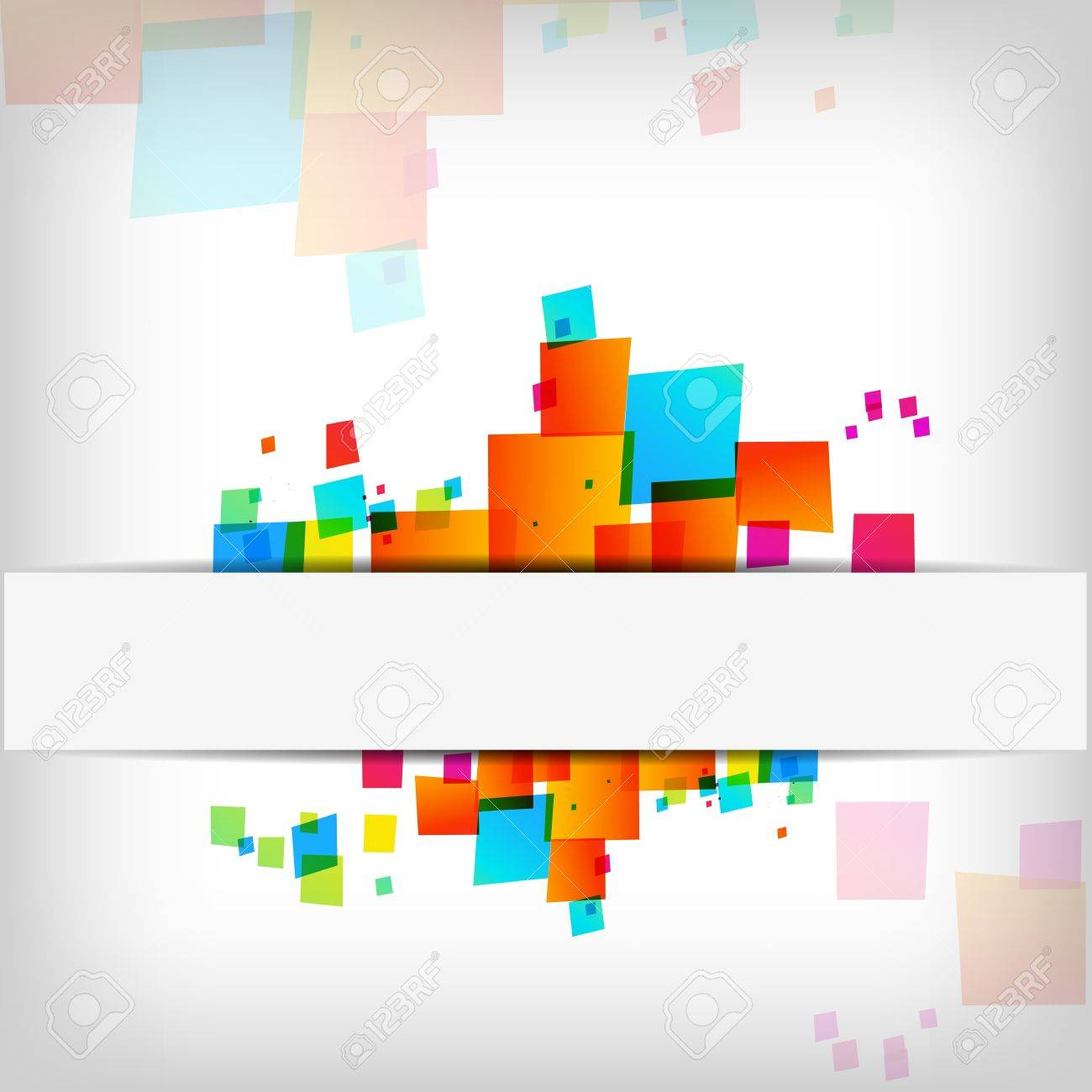 Abstract colorful background - Vector Illustration Stock Vector - 12201920