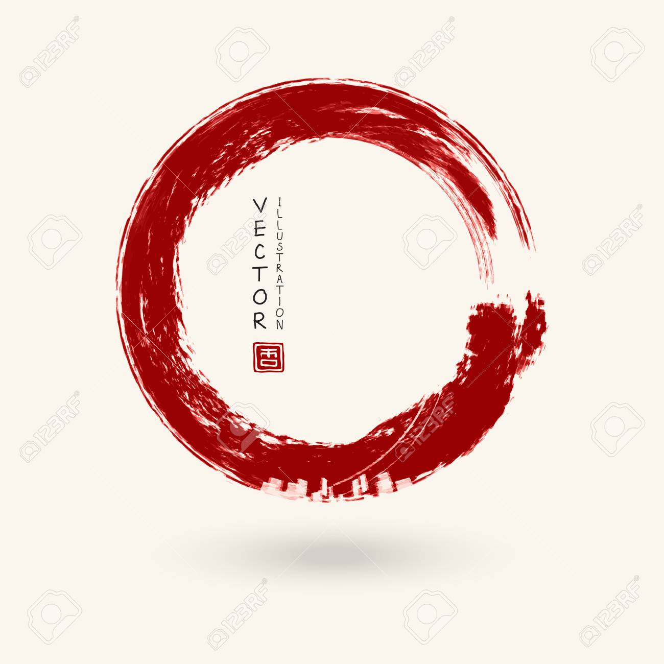 Japan-Import Kokuyo Stempel roter Tinte Pigment IP-690R