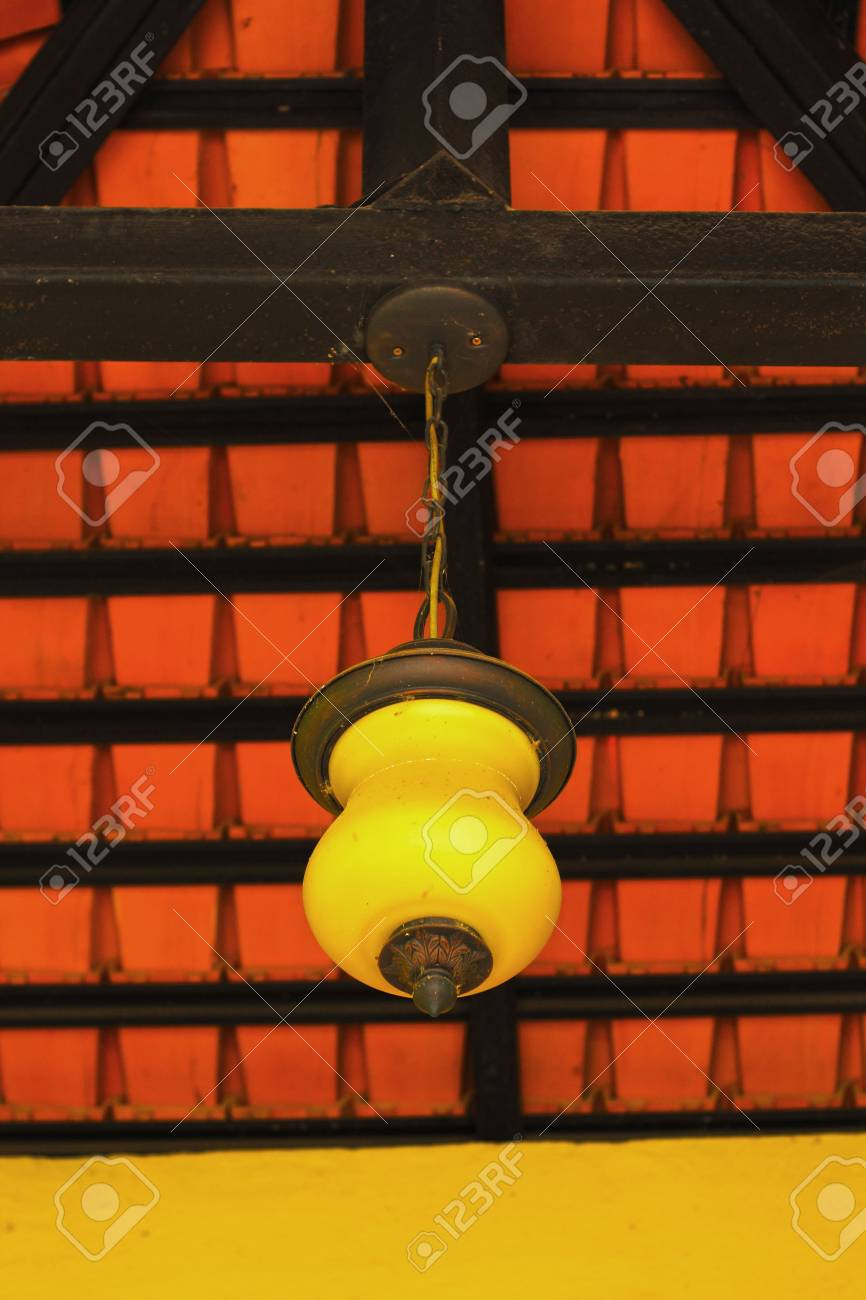 Vintage hanging lamps Stock Photo - 21798134