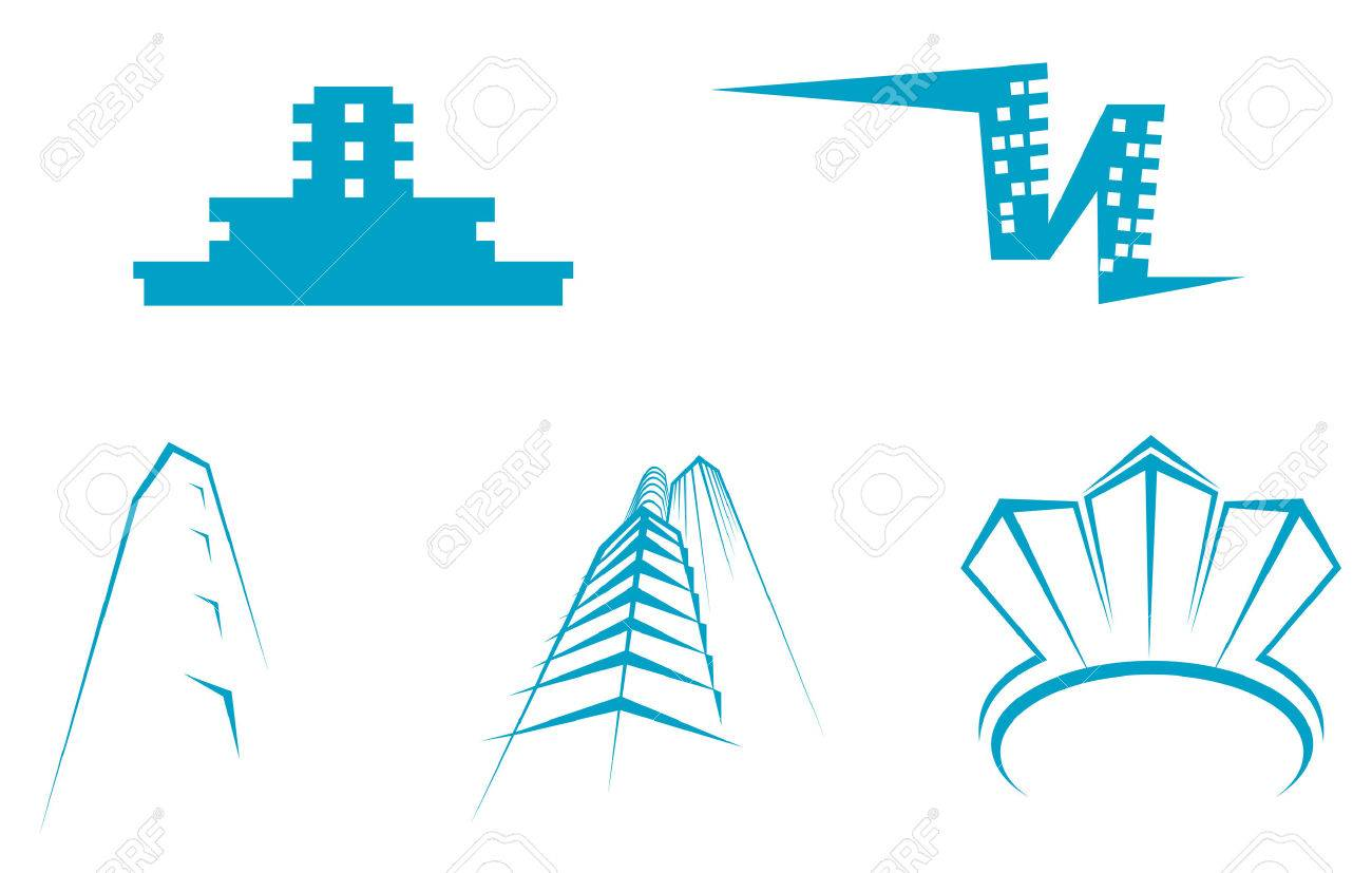 Real estate symbols for design and decorate Stock Vector - 5568131