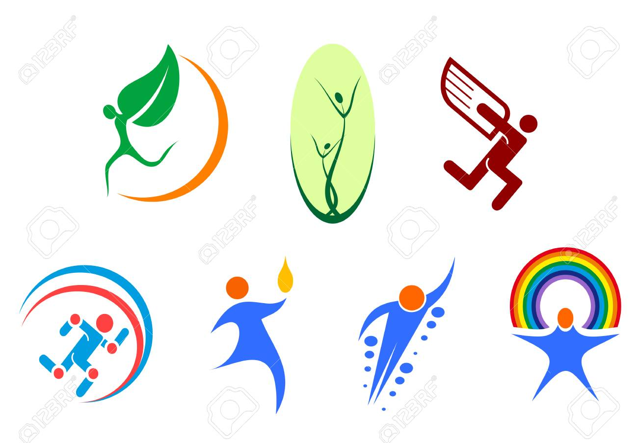Isolated people signs and symbols for design Stock Vector - 5568144