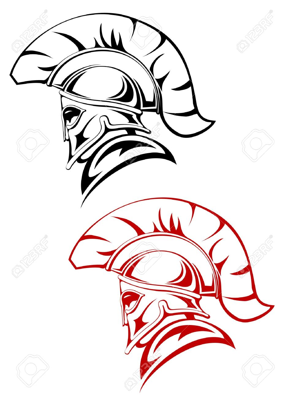 Ancient Warrior Symbol As A Concept Of Security Or Power Royalty