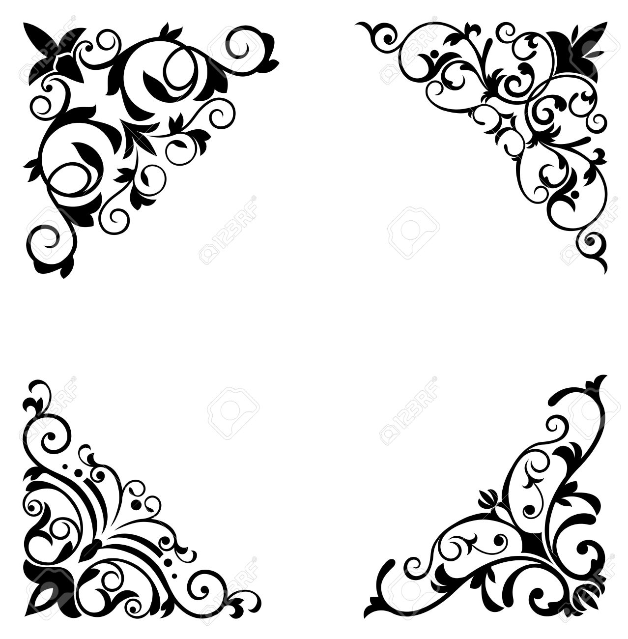 flower patterns and borders for design and ornate royalty free rh 123rf com vector flower patterns background free download vector flower patterns background free download