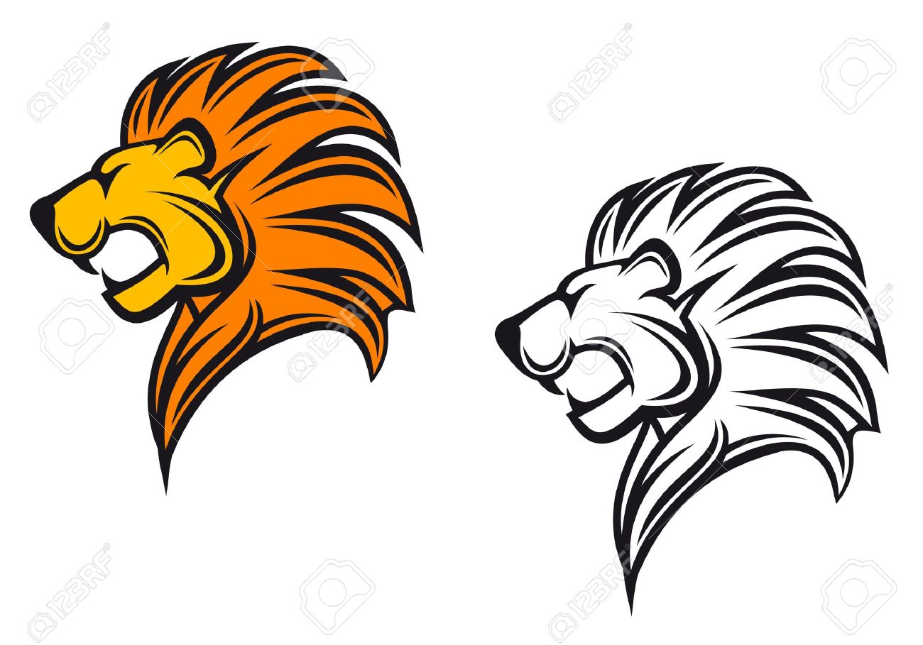 Lion Cartoon Stock Photos. Royalty Free Lion Cartoon Images for Angry Lion Animation  110ylc