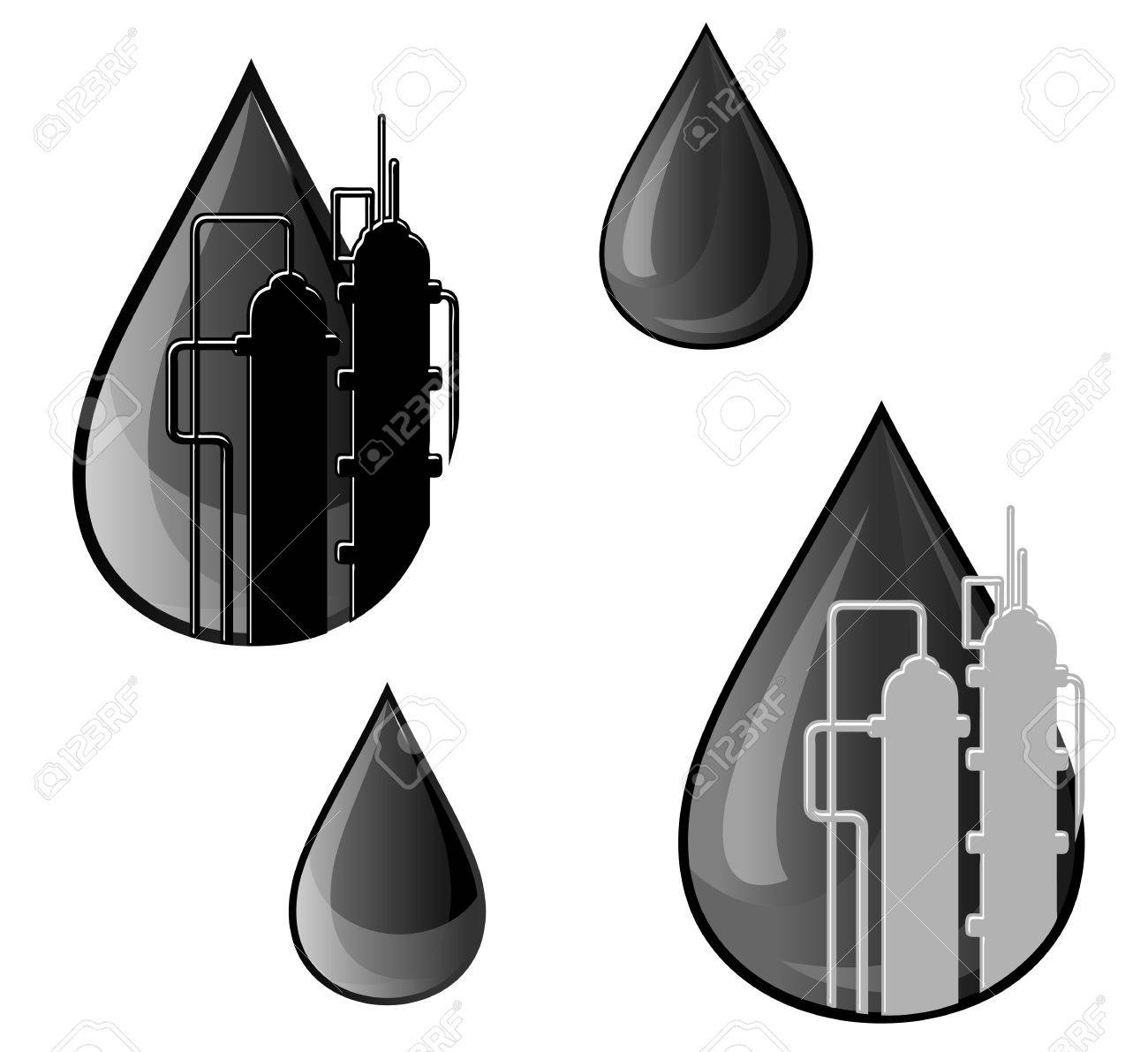 Oil and gasoline symbols for refinery industry design royalty free oil and gasoline symbols for refinery industry design stock vector 12306899 buycottarizona