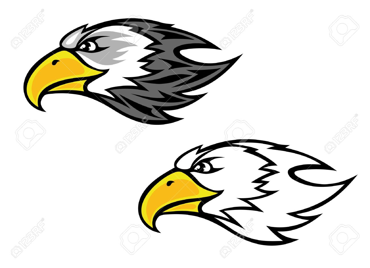 24,652 Hawk Stock Vector Illustration And Royalty Free Hawk Clipart