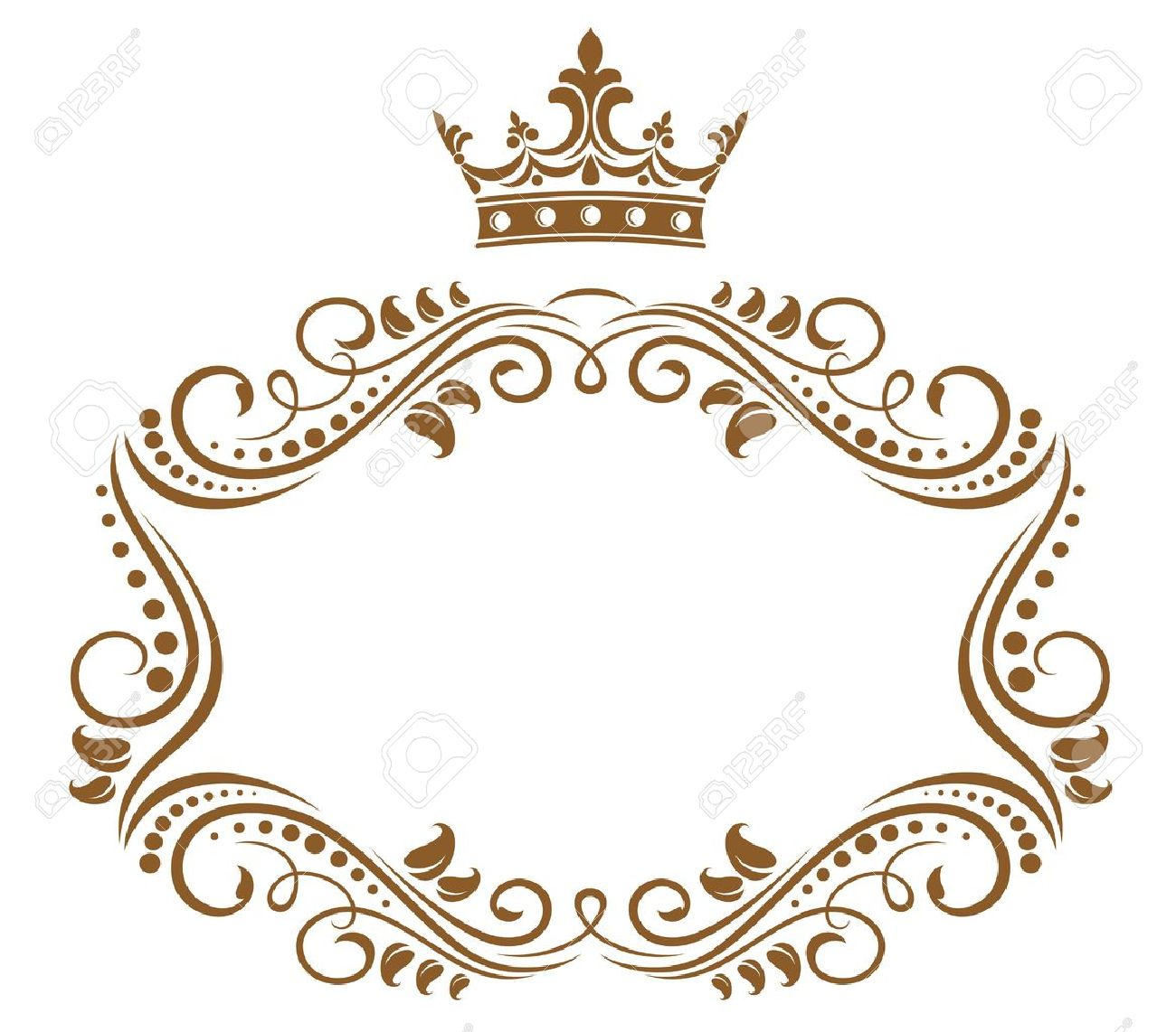 Elegant royal frame with crown vector colourbox -  Information By A Keyword Royal Frame All Images Were Carefully Selected For You In The Global Network And Can Only Be Used By The Author S Right