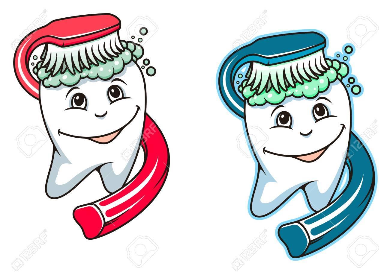Как нарисовать зубную щетку пасту и зубную щетку