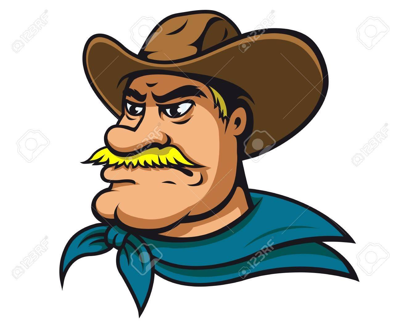 Sheriff in Cartoon Style