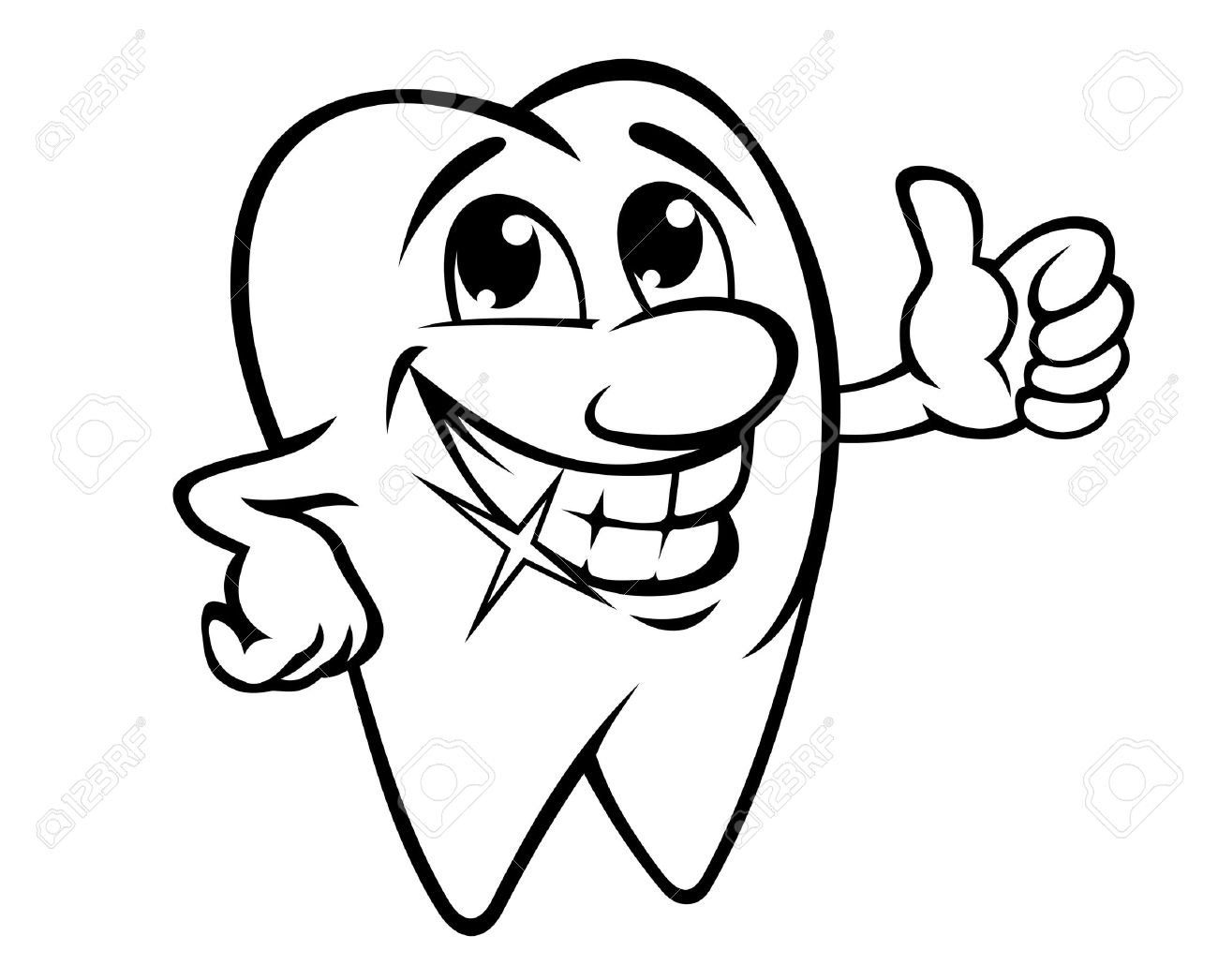 Image result for smiling with teeth cartoons