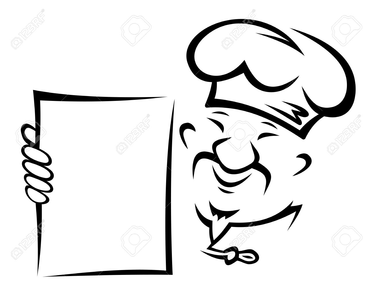 blank menu