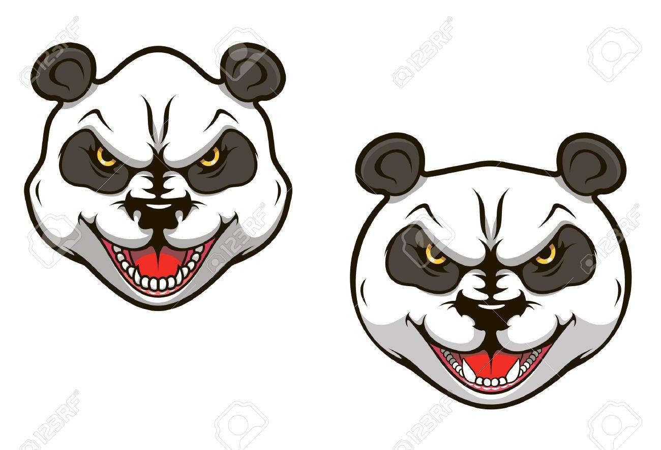 707 giant panda bear stock illustrations cliparts and royalty