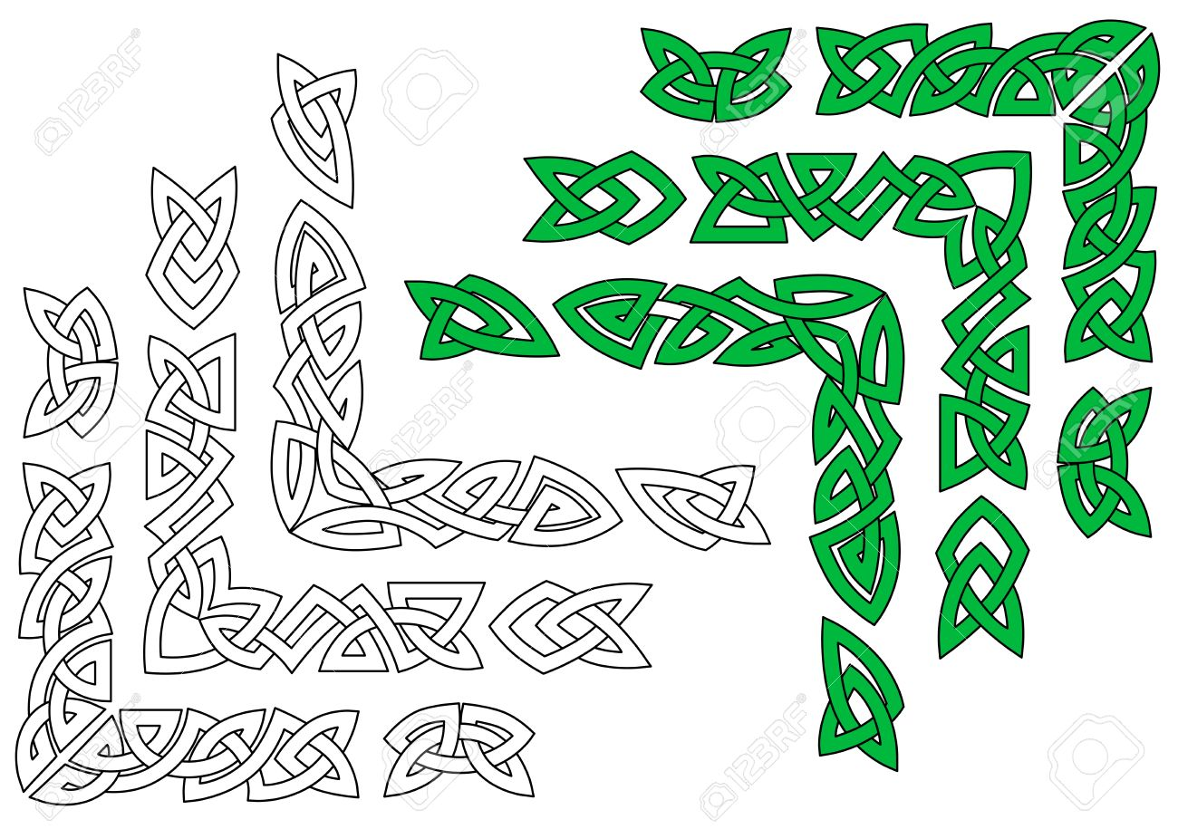Celtic ornaments and patterns for design and embellishments Stock Vector - 19560771