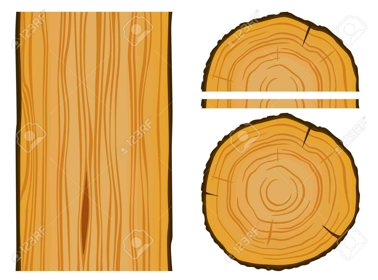 timber and wood texture with elements editable illustration royalty rh 123rf com wood texture vectors free wood texture vector illustrator