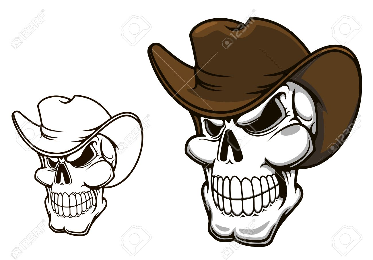 Western Outlaw Tattoo or tattoo design  cartoon