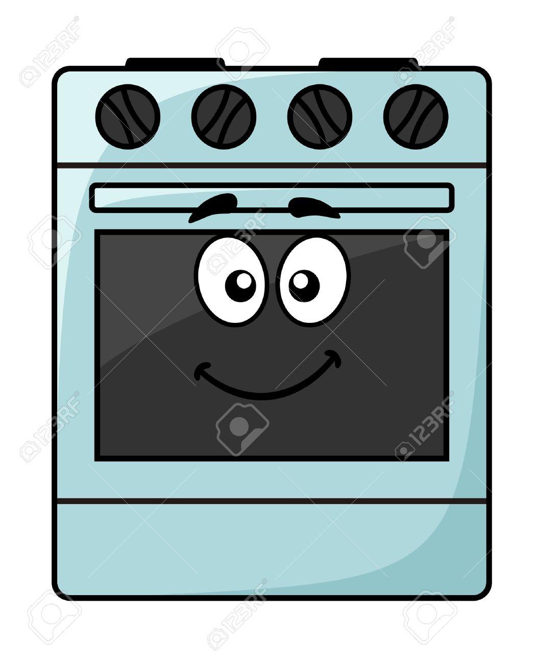 cartoon elettrodomestico da cucina - un felice sorridente ... - Cucina Elettrodomestico