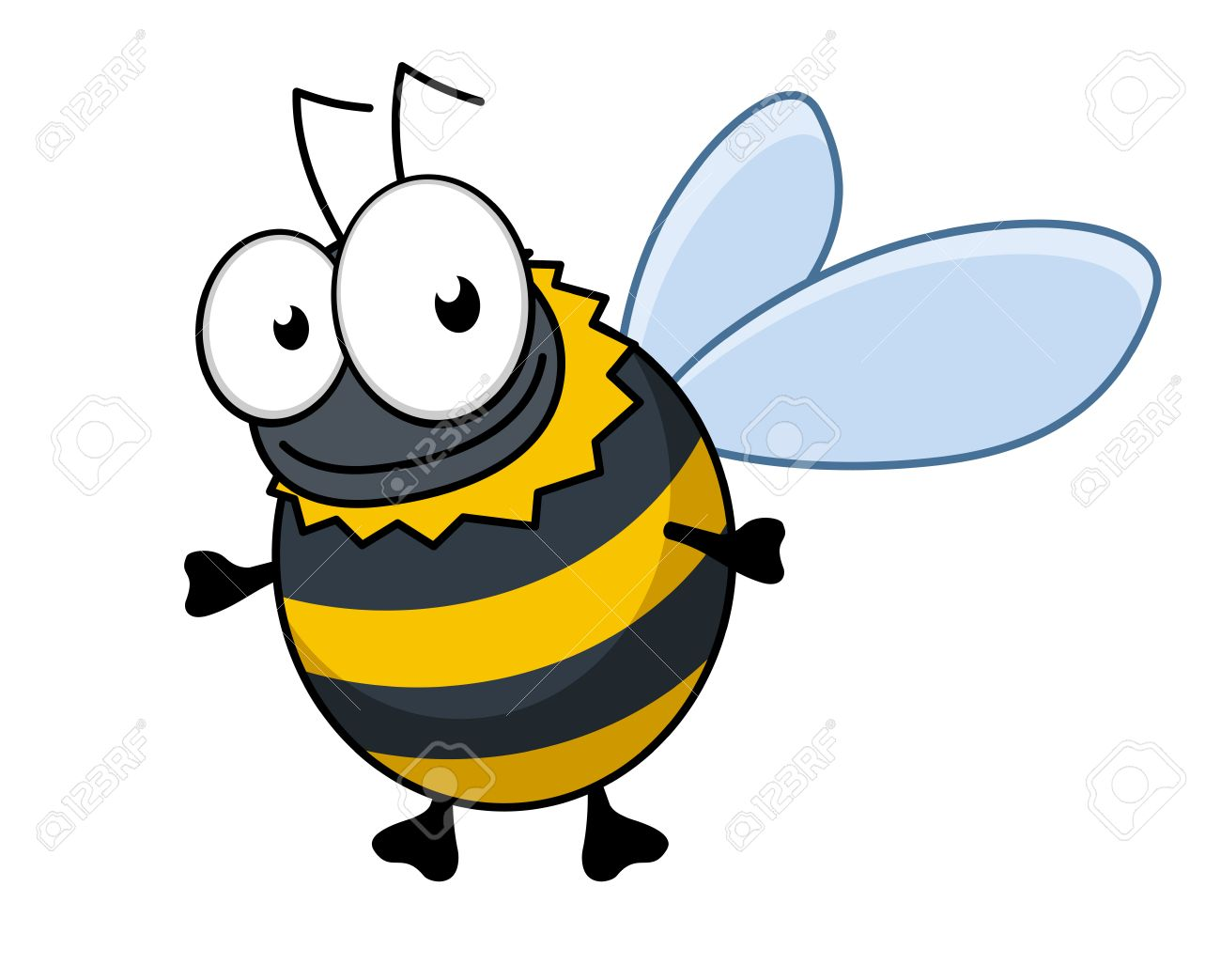 5,424 Bumble Bee Stock Vector Illustration And Royalty Free Bumble ...