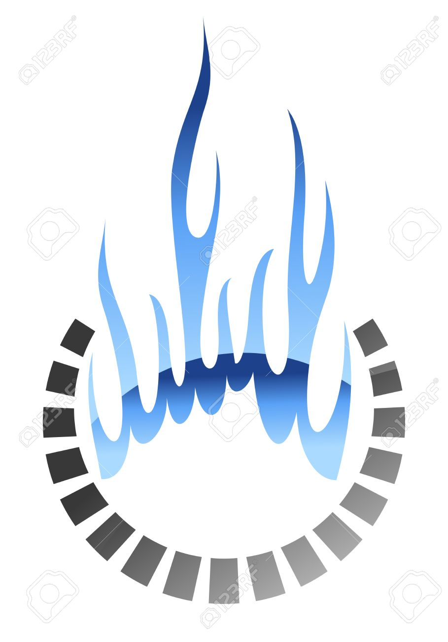 Burning methane gas symbol or icon in glow style for oil and burning methane gas symbol or icon in glow style for oil and energy industry design stock biocorpaavc Gallery